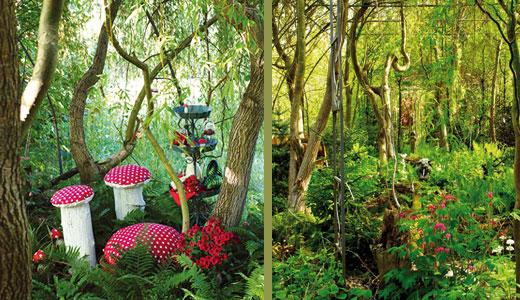 Das Gartenhaus | Zwerge  und Naturwesen